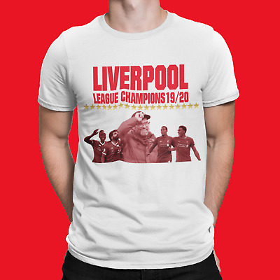 Liverpool England City of champions T-SHIRT 2020 League 19 Tee Anfield 2020