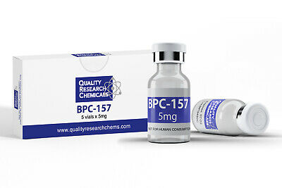 BPC-157 99.9% pure 25mg (5 x 5mg) FREE SHIPPING!!