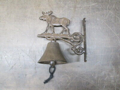 NEW~Cast Iron Dragon Bell Double Sided~Nice Sound~Door Porch~GOT~Medieval
