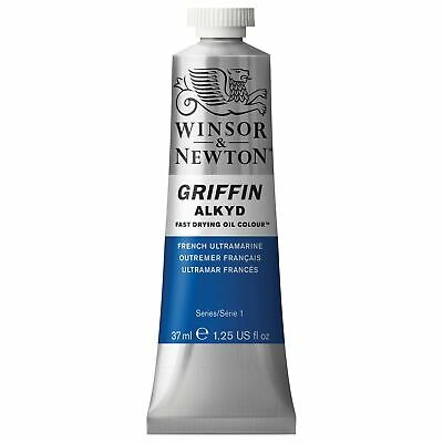 Winsor & Newton Griffin 37ml Alkyd Fast Drying Oil Colour Tube - French Ultra...