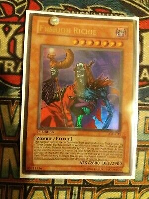 PGD-105 Unlimited Edition Moderately Played Ultra Rare YuGiOh Rope of Life