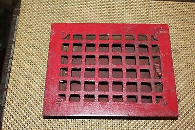 New Square Register Cast Iron Fireplace Grill Grate Heating Vent