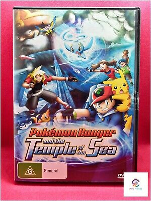 Pokemon Movie Ranger And Temple Of The Sea Dvd Movie 9