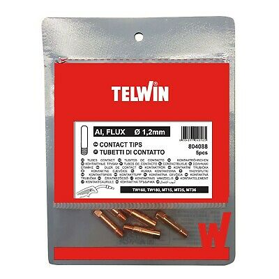 Tubes on Contact A//Flux 0,8mm TELWIN Original 722556 NEW