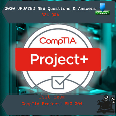 PK0-004 - CompTIA Project+ Certification Exam, 334 Q&A, PDF FILE.