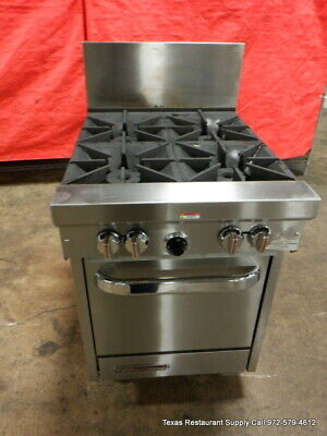 """Southbend S24E 24"""" Gas 4 Burner Range Stove With Oven"""
