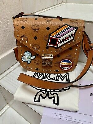 MCM TASCHE PATRICIA Victory Patch Visetos FOR SALE