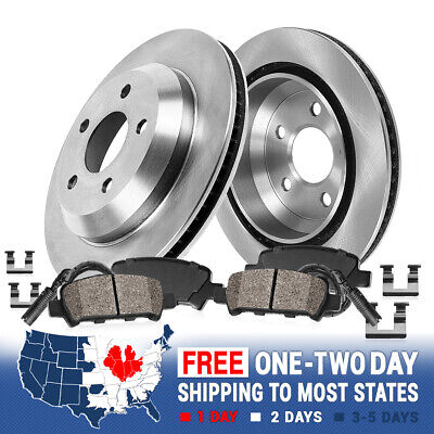 For Land Rover Discovery Range Rover Front+Rear Brake Rotors /& Ceramic Pads