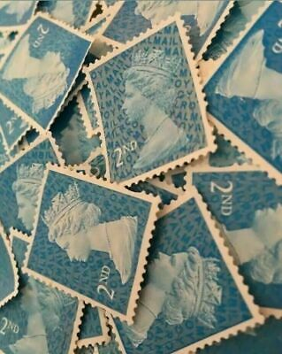 500 2nd Class Unfranked Stamps Security Type Off Paper No Gum A+ quality top use