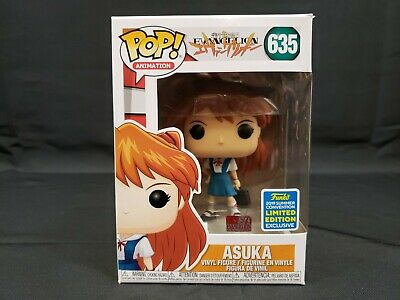 Funko Pop Animation Asuka Vinyl Figure #45120 Evangelion