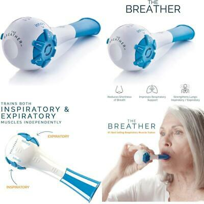 The Breather Inspiratory//Expiratory Respiratory Muscle Trainerfor Drug-F...