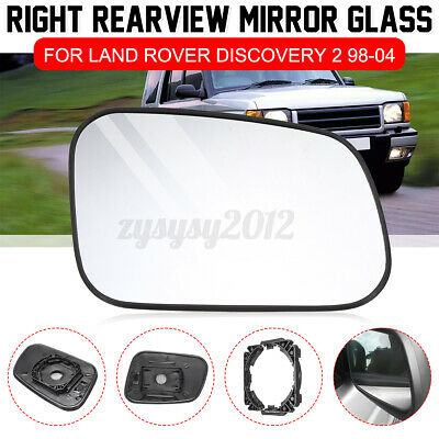 Clip And Mount Bearmach Land Rover Discovery 1 /& 2 RHS Door Wing Mirror Glass