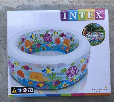 Neu Intex Badeinsel Pfau 7225949 grün
