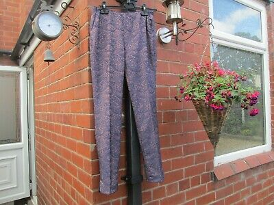 BODEN LADIES GORGEOUS Party Trousers Lace Look Jacquard WM397 BRAND NEW