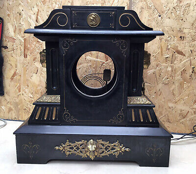 Large Marble Or Slate Mantle Clock Case Spares/Repairs