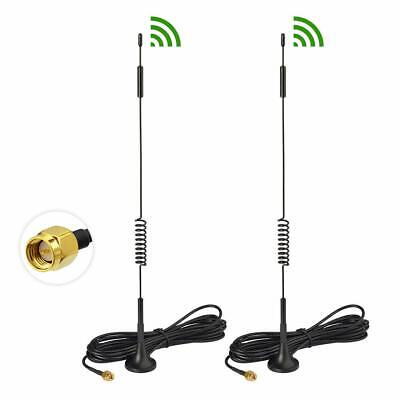 2Pack For UNLOCKED HUAWEI B525s-23a CAT6 4G/LTE WIFI ROUTER Magnetic Antenna SMA