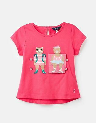 Joules Girls Nesta Tank Top And Shorts Set RED MERMAID TIDY Size 1yr