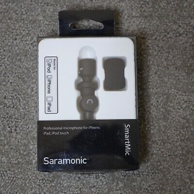 SARAMONIC SMARTMIC (TRRS) CONDENSER MICROPHONE for Smartphones/Tablets
