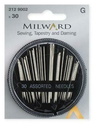 Milward - Hand Sewing Needles - Sewing - Tapestry & Darning - 30 Pieces