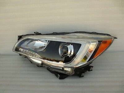 2015 2016 2017 Subaru Legacy / Outback Left Driver OEM Halogen Headlight Lamp
