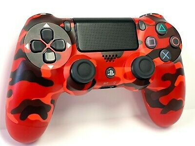 Wireless Controller DualShock 4 for SONY PlayStation 4 - Red Camouflage