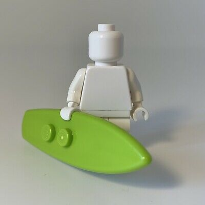 Lego Friends Surfboard Lime Minifigure Accessory x2 and Pink Sunglasses New