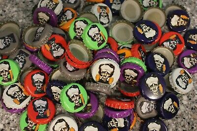 100 GRAY RAVEN BREWERY BEER BOTTLE CAPS NO DENTS EDGAR ALLAN POE FREE FAST SHPG!