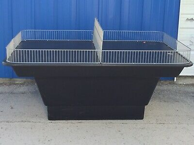 Heavy Duty Large Commercial Retail, Grocery Display Merchandise Table/Bin