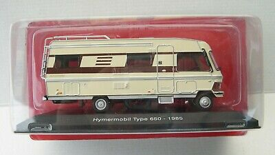 HYMERMOBIL TYPE 650 ALLEMAGNE 1985  au 1//43° PASSION CAMPING CARS