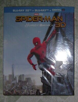 Spider-Man Homecoming 3D Blu-Ray 3D + Blu-Ray Neuf Sous Blister
