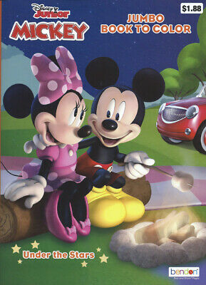 3 - 64 Page Disney Mickey Mouse Coloring Books Children's Boys Girls Kids