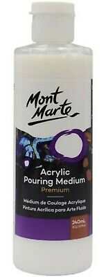 Mont Marte Premium Acrylic pouring Medium 240 ml