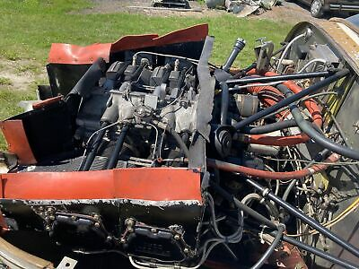 Textron Avco Lycoming Io-360-C1D6 Io360 Wide Deck Aircraft Engine W/ Logs