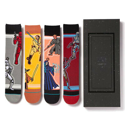 4 Paar Stance Foundation Everyday Light Cushion Socken Disney Claus Box Set