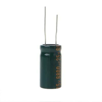 25V 6800uF Capacitance Electrolytic Radial Capacitor High Frequency Low ESR