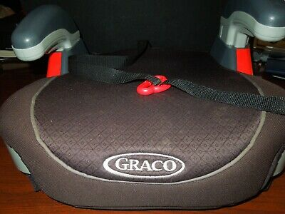 GRACO Kid's Backless Booster Car Seat TurboBooster Safe Travel #1920048