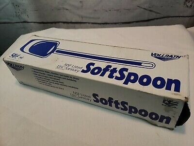 """LOT/5 Vollrath High Temp Silicone Spatula 13⅝"""" Commercial Softspoon 52113"""