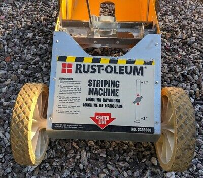 Rustoleum Professional parking lot striping paint machine line sprayer BNIB