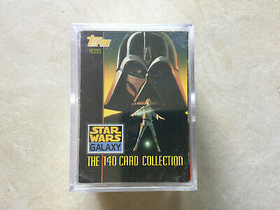 Star Wars Galaxy Full Set Of 140 Trading Cards - Topps 1993