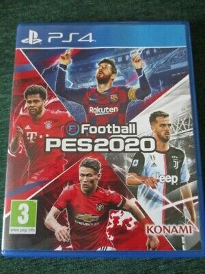eFootball PES 2020 Sony PS4 Game in Excellent Condition