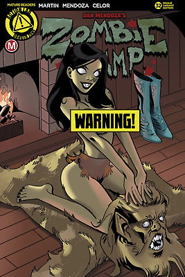 """Zombie Tramp Ongoing #32 Cvr B Celor Risque (Mr) """"F6"""""""