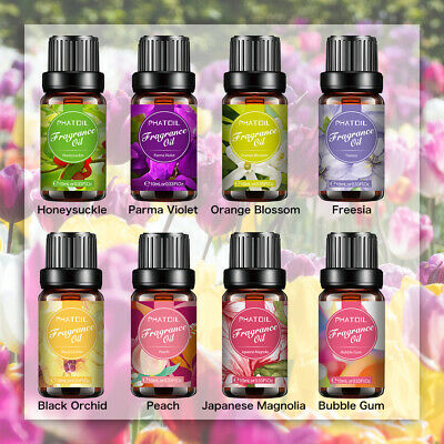 Aromatherapy Essential Oils Pure Organic Perfume oil Fragrances 10ml 6 Types UK