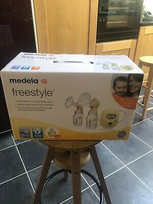 Madela Freestyle Double Electric Breast Pump With Calma