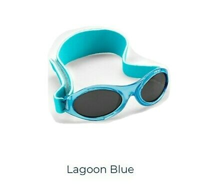 Baby Banz Lagoon Blue Sunglasses With 100% Uv Protection - Age 0-2