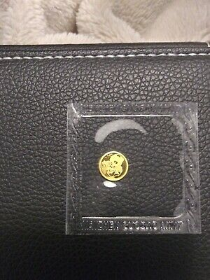 2019 Chinese Panda 1 Gram .999 Gold 10 Yuan FV Mint Sealed Limited BU Coin