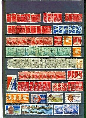 USA  Air mail selection see scans