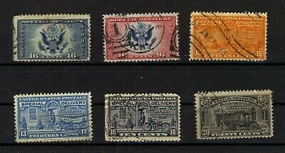 USA  good earliest  selection  Special Delivery stamps