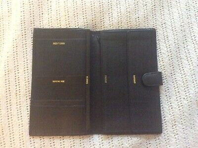 travel wallet family passport holder New Condition All Leather