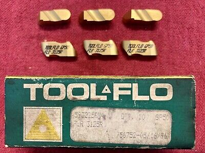 ToolFlo FLR 3015R AC3R Top Notch Coated Carbide Grooving Inserts NR 3015R 10pc