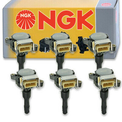 4 pcs NGK 48761 Ignition Coil for U4037 DG525 48761 673-6301 UF631 IC734 aw